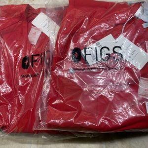 Figs Scrub Set: Manari Pants & TELA Top: R…